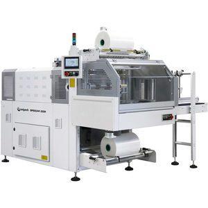 BP800AR 230R – Fardeleuse automatique monobloc avec entrée à 90° et barre de soudure