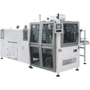 BP802ARV 280R-P – Fardeleuse automatique monobloc avec entrée à 90° et barre de soudure